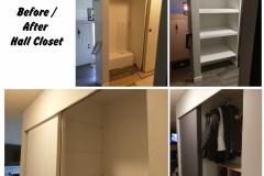 Earthwise Painting LLC - Residential Hallway & Closets Drywall Repair, Trim & Paint