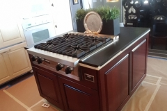 Earthwise Painting LLC - Kitchen Cabinet Refinishing (During)