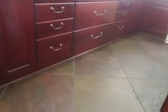 Earthwise Painting LLC - Kitchen Cabinet Refinishing (Before)