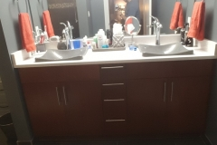Earthwise Painting LLC - Bathroom Cabinet Refinishing (After)