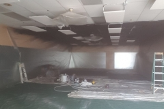 Earthwise Painting LLC - Commercial Painting Ceiling (Before)