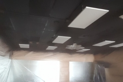 Earthwise Painting LLC - Commercial Painting Ceiling (During)