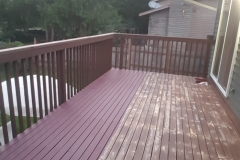 Earthwise Painting LLC - Deck (During)