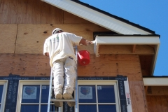 Earthwise Painting LLC - Residential Exterior Painting (During)